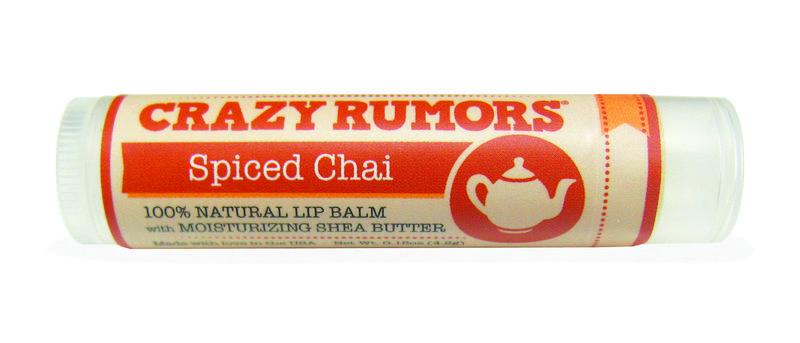Crazy Rumors - Natuurlijke lip balm Spiced Chai