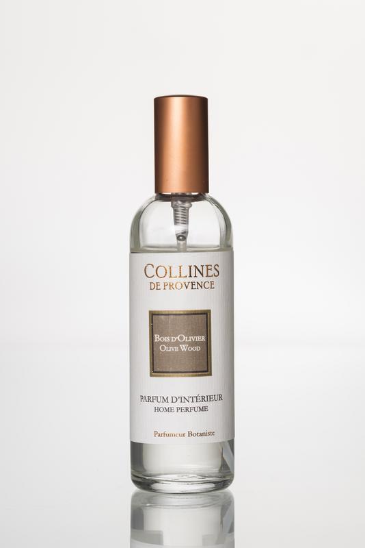 Collines de Provence Huisparfum Olijfhout 100 ml.