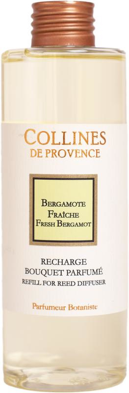 Collines de Provence navulling  geurstokjes Bergamot 200 ml.