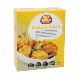 TAPAS CLUB POLLO AL AJILLO - 6 x  ca. 27St