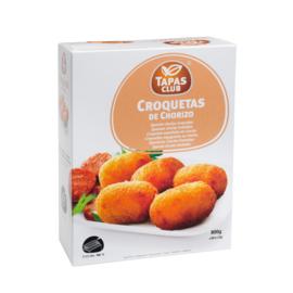 TAPAS CLUB CROQUETAS DE CHORIZO 25g - 6 x ca. 32st