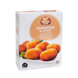 TAPAS CLUB CROQUETAS DE CHORIZO 25g - 6 x approx. 32p