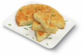 TAPAS CLUB MINI TORTILLA ESÑOLA POTATO OMELET ROUND - 60 x 120g