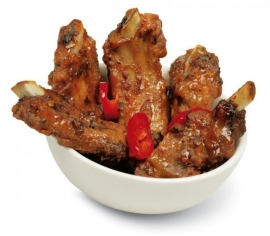 TAPAS CLUB COSTILLAS PICANTES MINI RIBS - 6 x approx. 25p