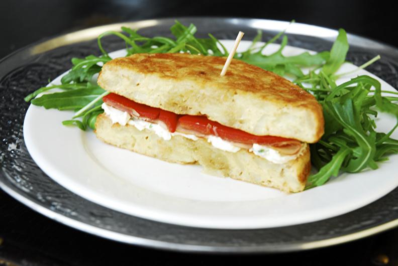 Tortilla Española con salmón