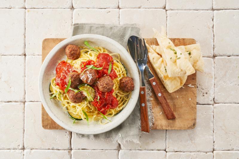 Spaghetti met Albóndigas