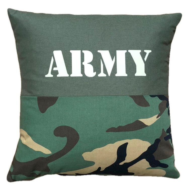 Kussen camouflage -  ARMY (35-35cm)