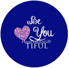 """Be You tiful"" blauw"