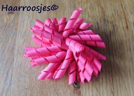 Krulliesss, fuchsia roze.