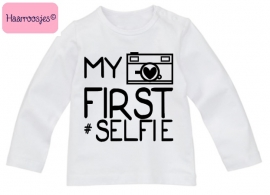 Babyshirt, My first #selfie