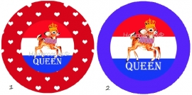 Koningsdag queen (hertje)