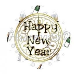 Oud & Nieuw Happy New Year 001