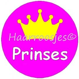 Tiska - Prinses, gele kroon.