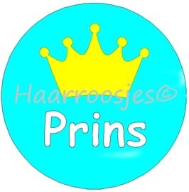Tiska - Prins, gele kroon.