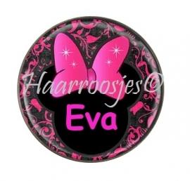 """Flatback met naam """"Eva""""."""