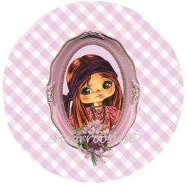 Eva roze ruit