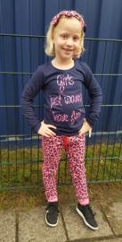 Meisjesshirt met print, past bij Z8!