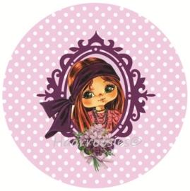 Eva roze polkadot