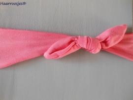 Knoophaarband, roze.
