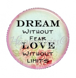 Dream without fear, Love without limits.