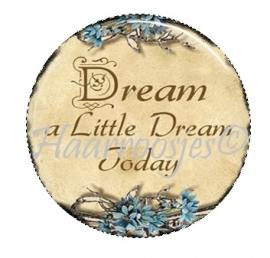 Dream a Little Dream Today.