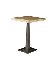 BISTRO TREE-TRUNK BAR TABLE 80X80X105 - TOP 6