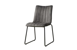 BUNOL SIDECHAIR - SAVANNAH ANTRACITE