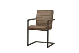 ROCCA ARMCHAIR - BULL BROWN
