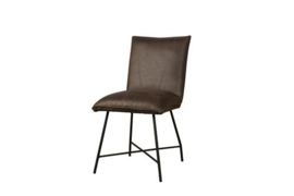 TROFA SIDECHAIR - FABRIC AMAZON 8 BROWN