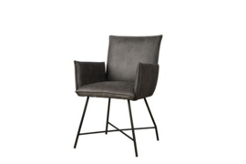 TROFA ARMCHAIR - FABRIC AMAZON 2 GREY