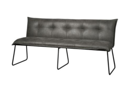 SEDA BENCH 155 - FABRIC CHEROKEE 1 GREY