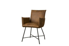 TROFA ARMCHAIR - FABRIC AMAZON 9 COGNAC