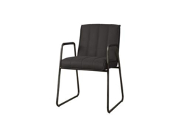 SANTO ARMCHAIR - FABRIC MIAMI 001 ANTRACITE