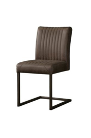 FERRO SIDECHAIR - SAVANNAH DARK BROWN 1078-03