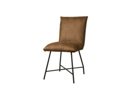 TROFA SIDECHAIR - FABRIC AMAZON 9 COGNAC