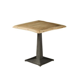 BISTRO TREE-TRUNK CAFE TABLE 80X80X78 - TOP 4