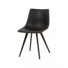 Horeca stoel - Nicolas - PU Leer / Staal - Grijs