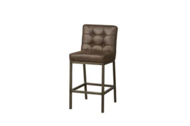 VASCO BARSTOOL - FABRIC AMAZON 8 BROWN