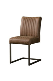 FERRO SIDECHAIR - SAVANNAH LIGHT BROWN 1049