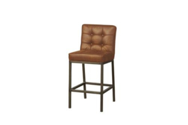 VASCO BARSTOOL - FABRIC AMAZON 9 COGNAC