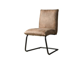 PINTO SIDECHAIR - FABRIC YBF-96 LIGHT BROWN