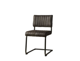 AVILA SIDECHAIR - FABRIC T-ANTRACITE