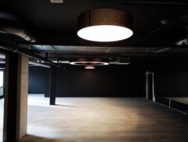 hanglamp Adonis,  lampenkap  80cm, met 3xE27 Corepro LED,  zwart