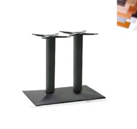 Tafel TR30351, zwart,  80x60cm, blad naar keuze