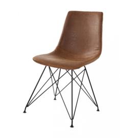 Horeca stoel - Clint - Bruin - Staal