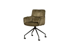 SARONNO ARMCHAIR - FABRIC GREEN YC1939-16