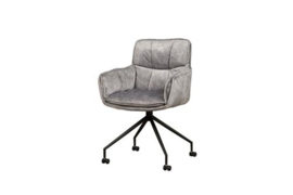 SARONNO ARMCHAIR - FABRIC LIGHT GREY YC1939-12