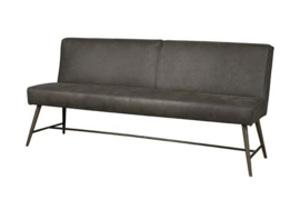 BELMONTE BENCH 185 - FABRIC CHEROKEE 1 GREY