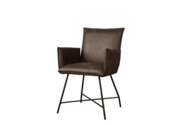 TROFA ARMCHAIR - FABRIC AMAZON 8 BROWN