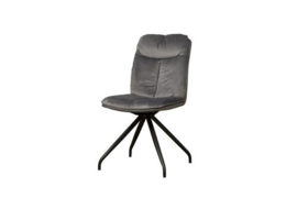ROTA SWIVEL SIDECHAIR - LUSH 812-229 GREY